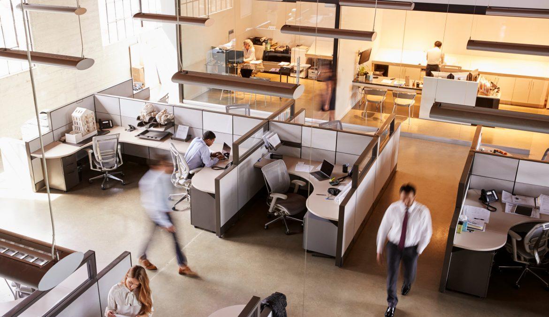 Come cambiano gli spazi del lavoro con il covid-19.